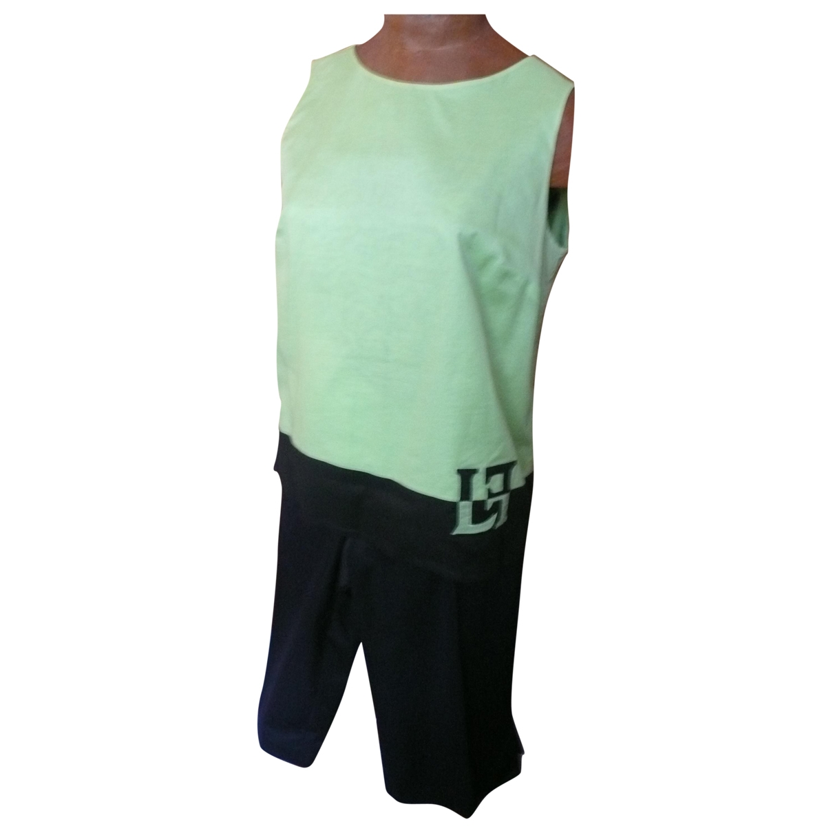 Louis Feraud \N Green Cotton  top for Women 42 FR