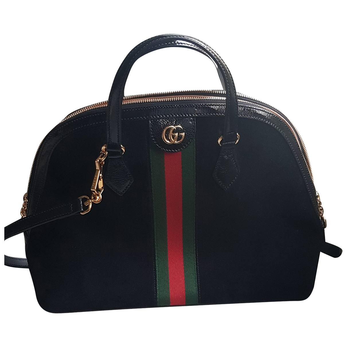 Gucci Ophidia Black Leather handbag for Women N