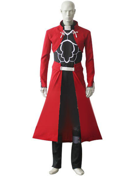 Milanoo Fate Stay Night Emiya Archer Cosplay Costume Halloween