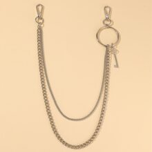 Key Decor Waist Chain Belt