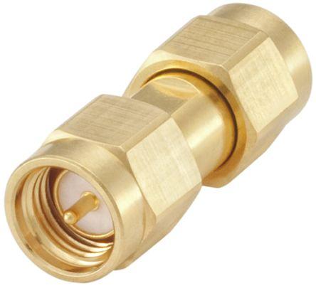 Rosenberger Straight 50Ω RF Adapter SMA Plug to SMA Plug 18GHz