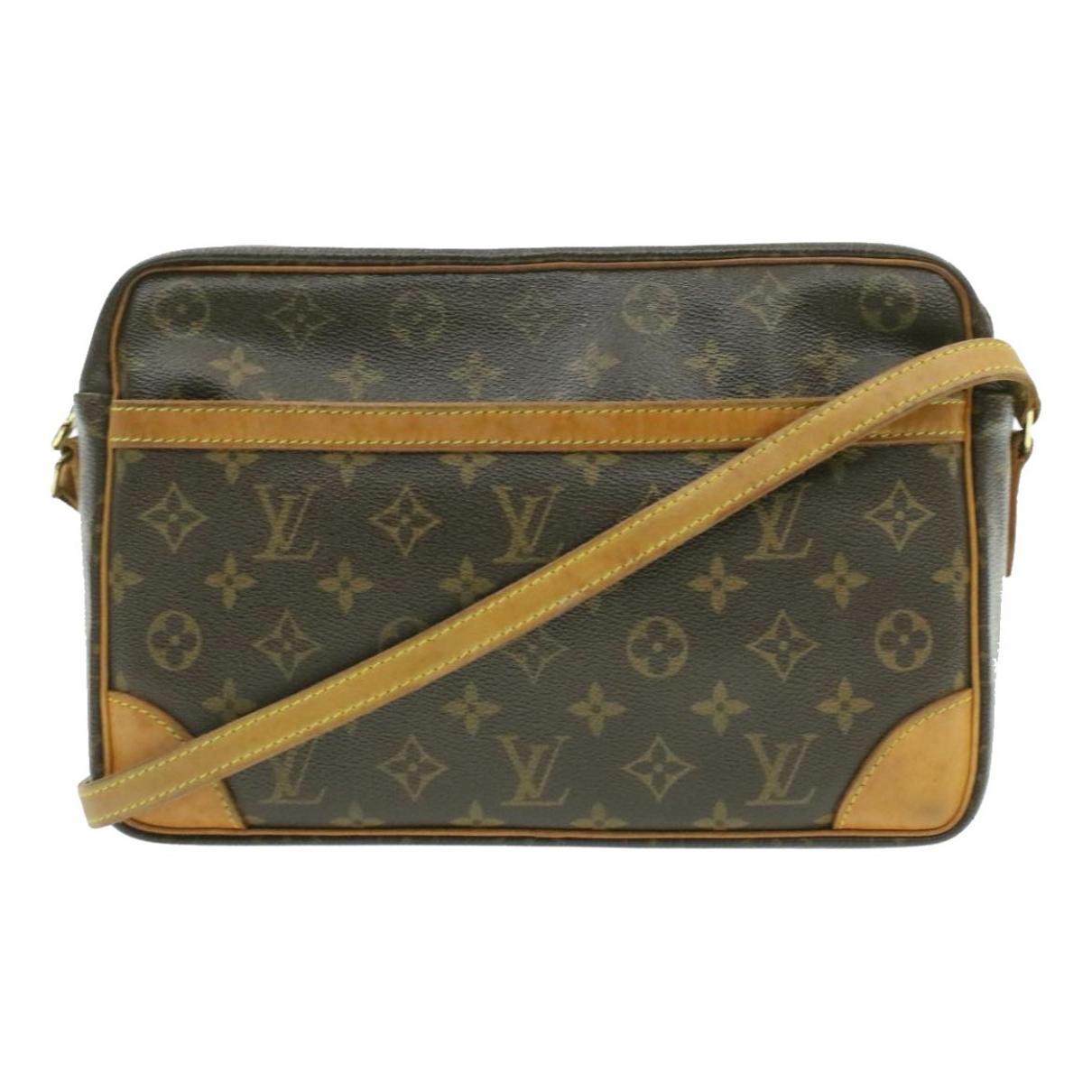 Louis Vuitton Trocadéro Brown Cloth handbag for Women N