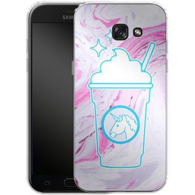 Samsung Galaxy A5 (2017) Silikon Handyhuelle - Unicorn Frappuccino von caseable Designs