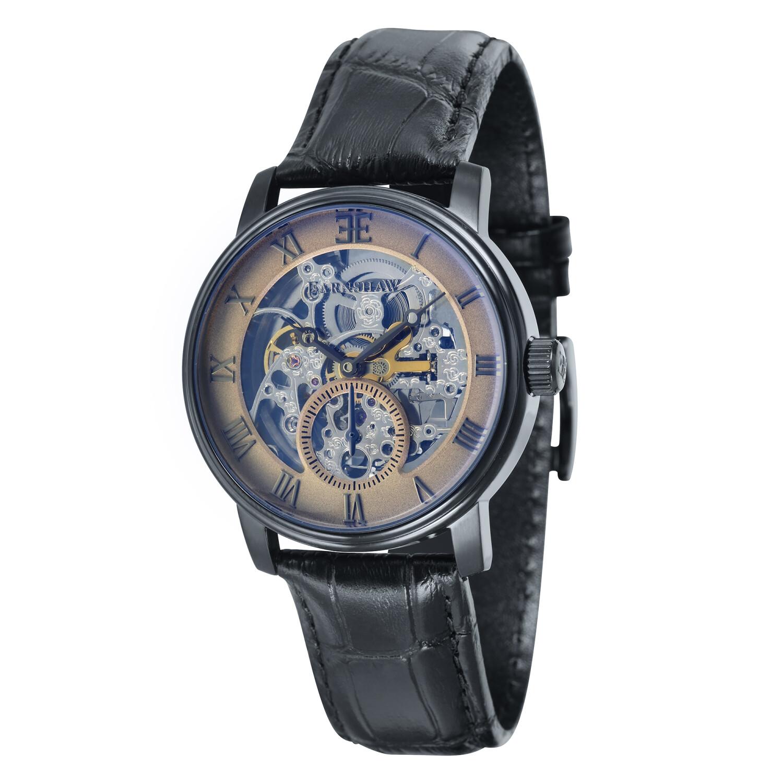 Thomas Earnshaw Men's Westminster ES-8041-06 Grey Leather Automatic Self Wind Watch Winder