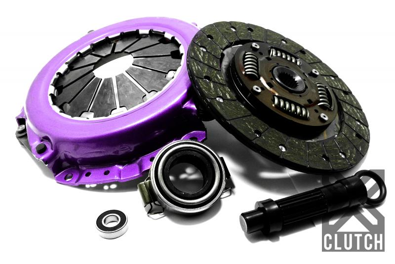 XClutch XKTY22018-1A Clutch Kit Stage 1 Single Solid Organic Clutch Disc Toyota MR2/MRS 2000-2005 1.8L 4-Cylinder