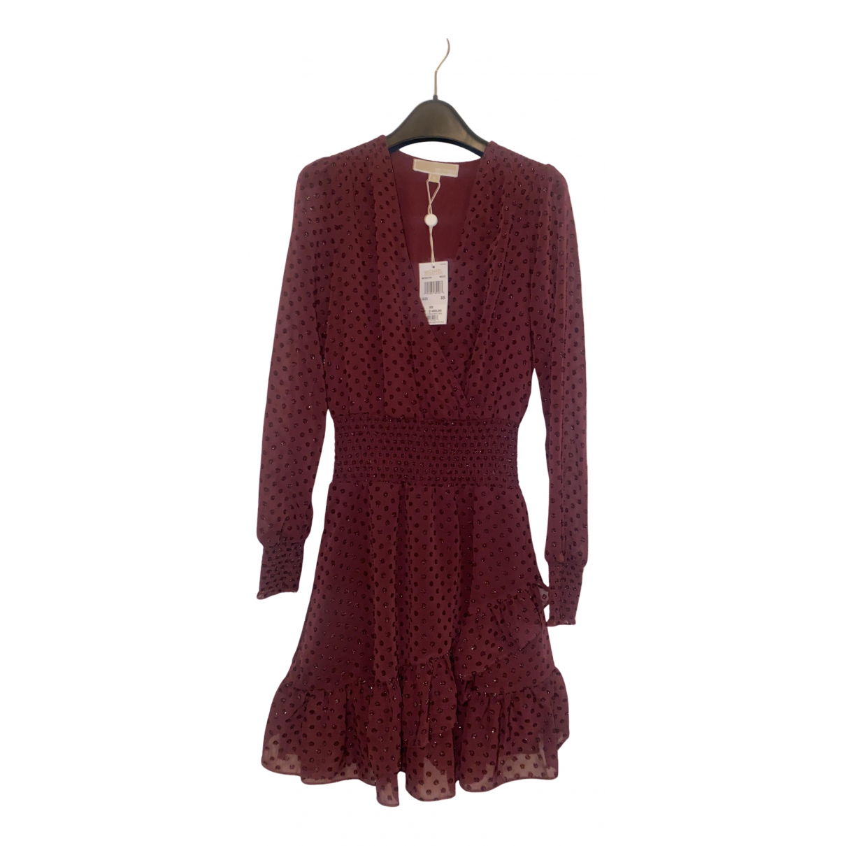 Michael Kors N Burgundy dress for Women 34 FR