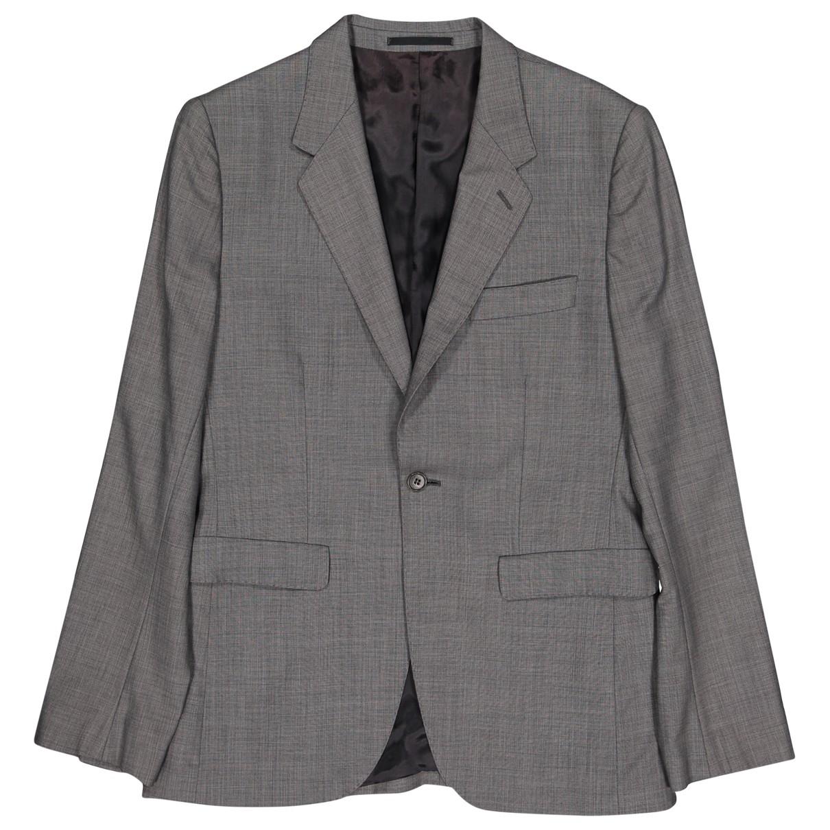 Acne Studios \N Grey Wool jacket  for Men 48 IT
