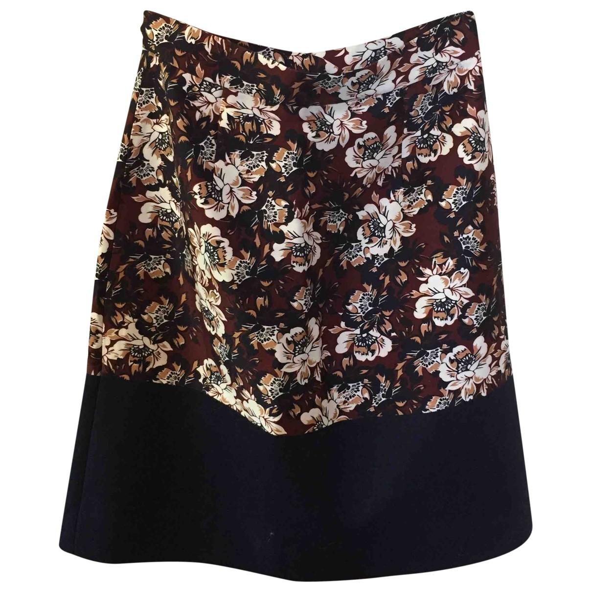 MOf Pearl \N Multicolour Cotton skirt for Women 8 UK