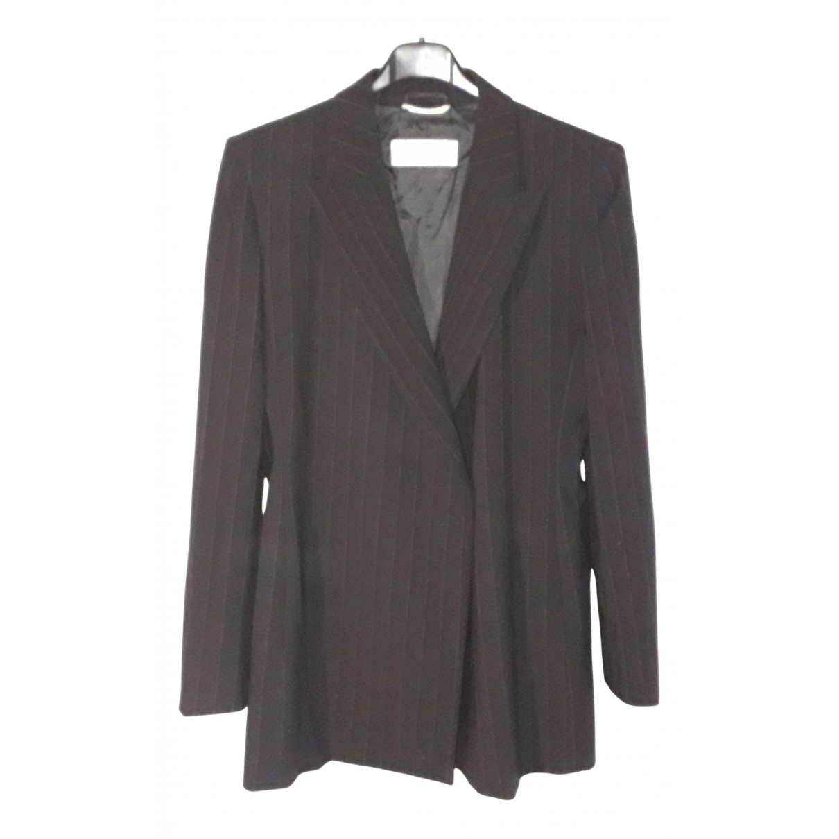 Max Mara N Black Wool jacket for Women 42 IT