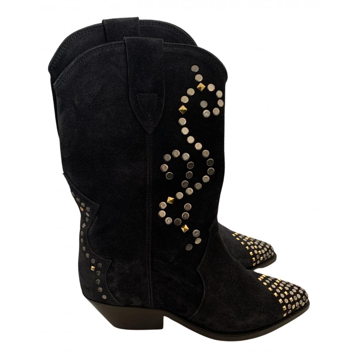 Isabel Marant Duerto Suede Boots for Women 35 EU