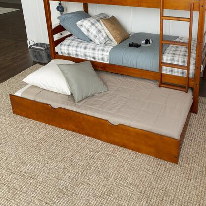 BTW40CH Solid Wood Trundle Bed in