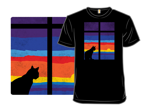 Summer With My Cat T Shirt