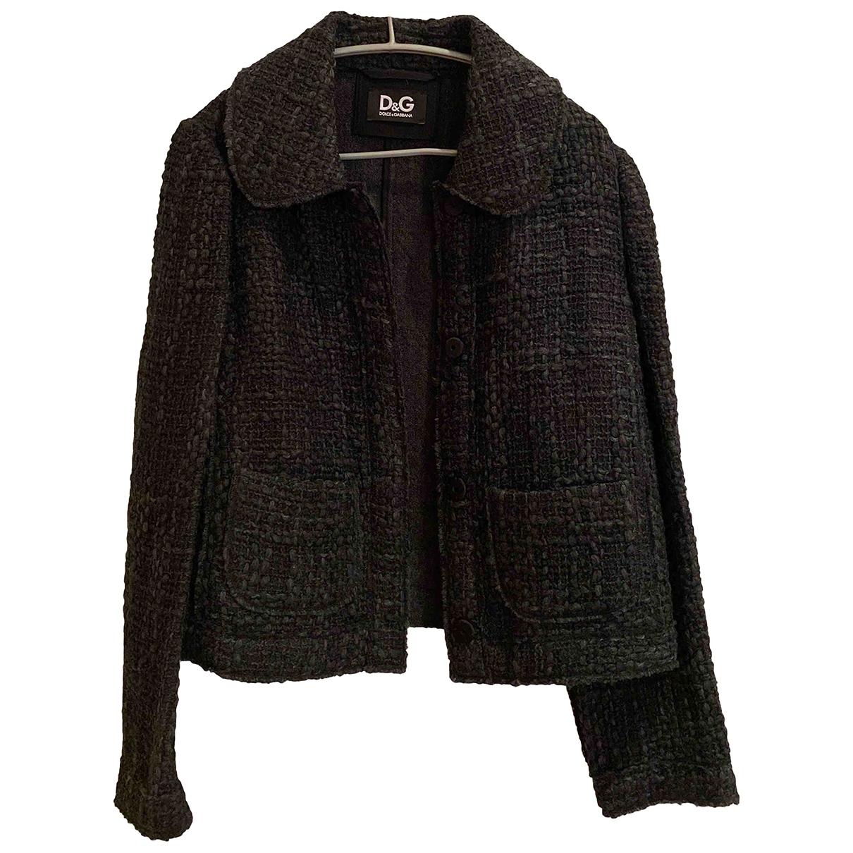 D&g - Veste   pour femme en laine - gris