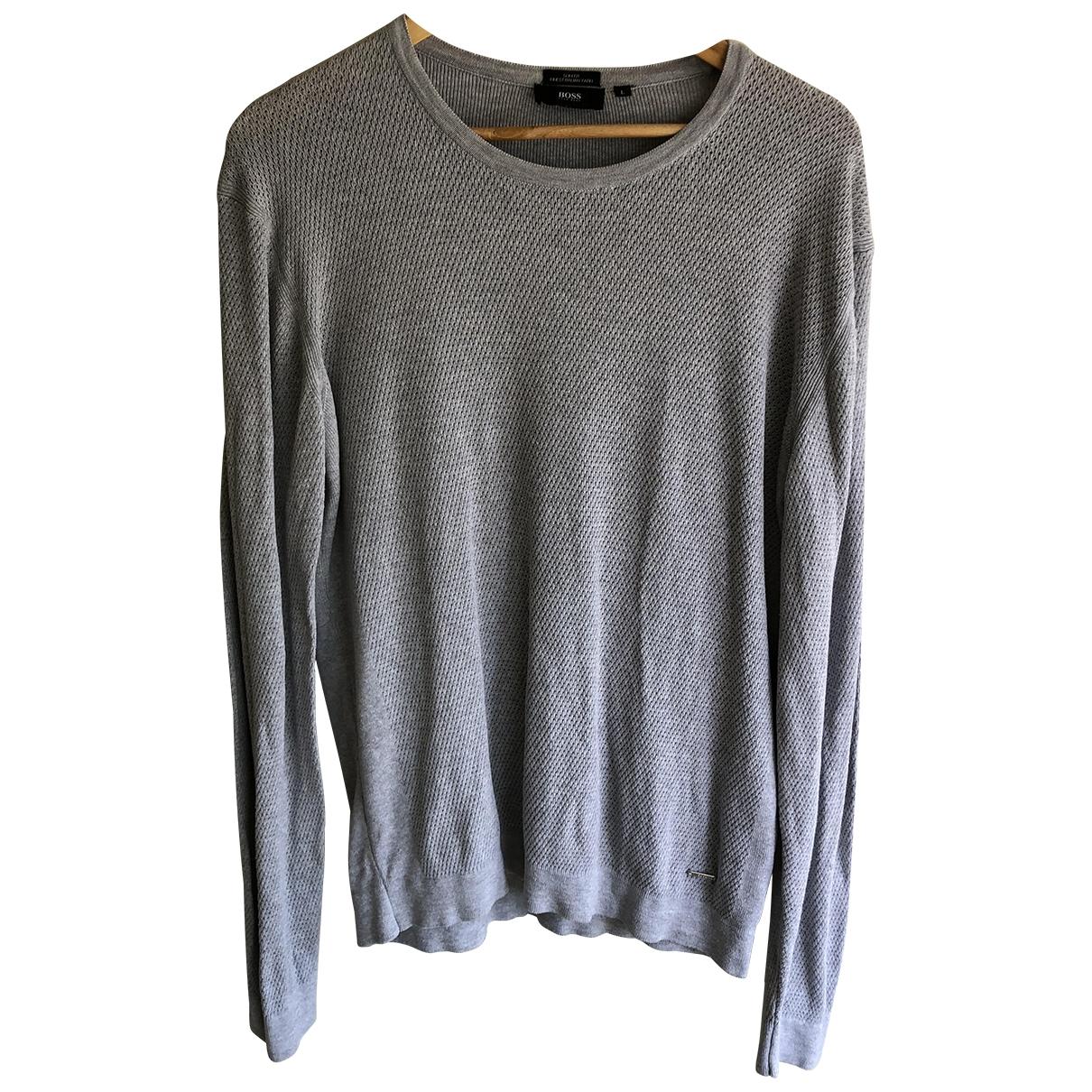Boss \N Grey Knitwear & Sweatshirts for Men L International