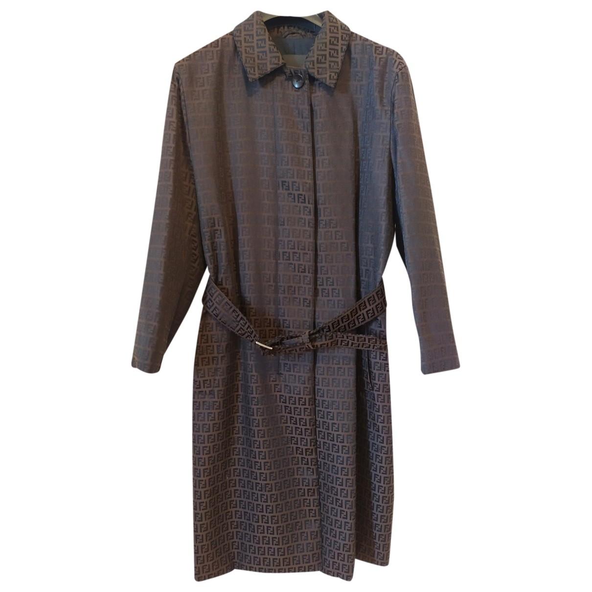 Fendi \N Brown coat for Women 44 IT