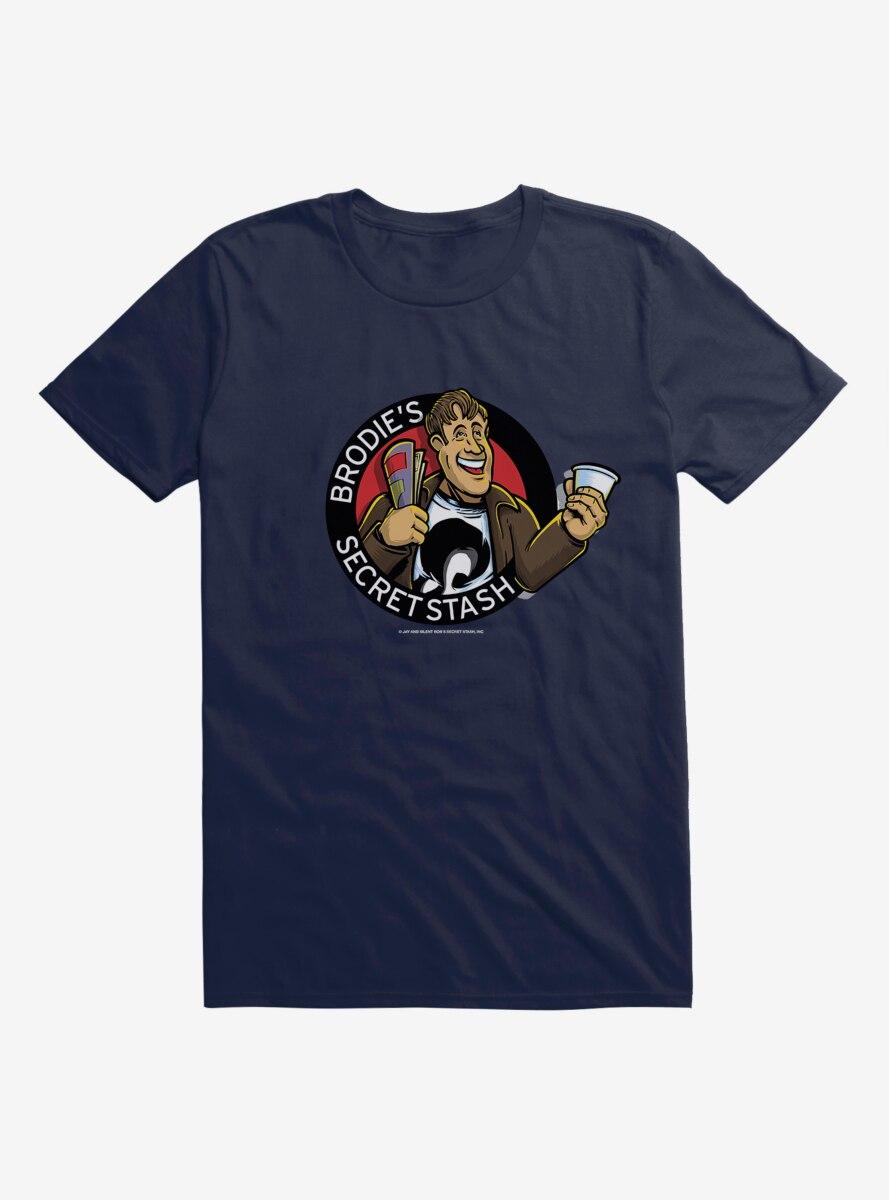 Jay And Silent Bob Reboot Brodie's Secret Stash T-Shirt
