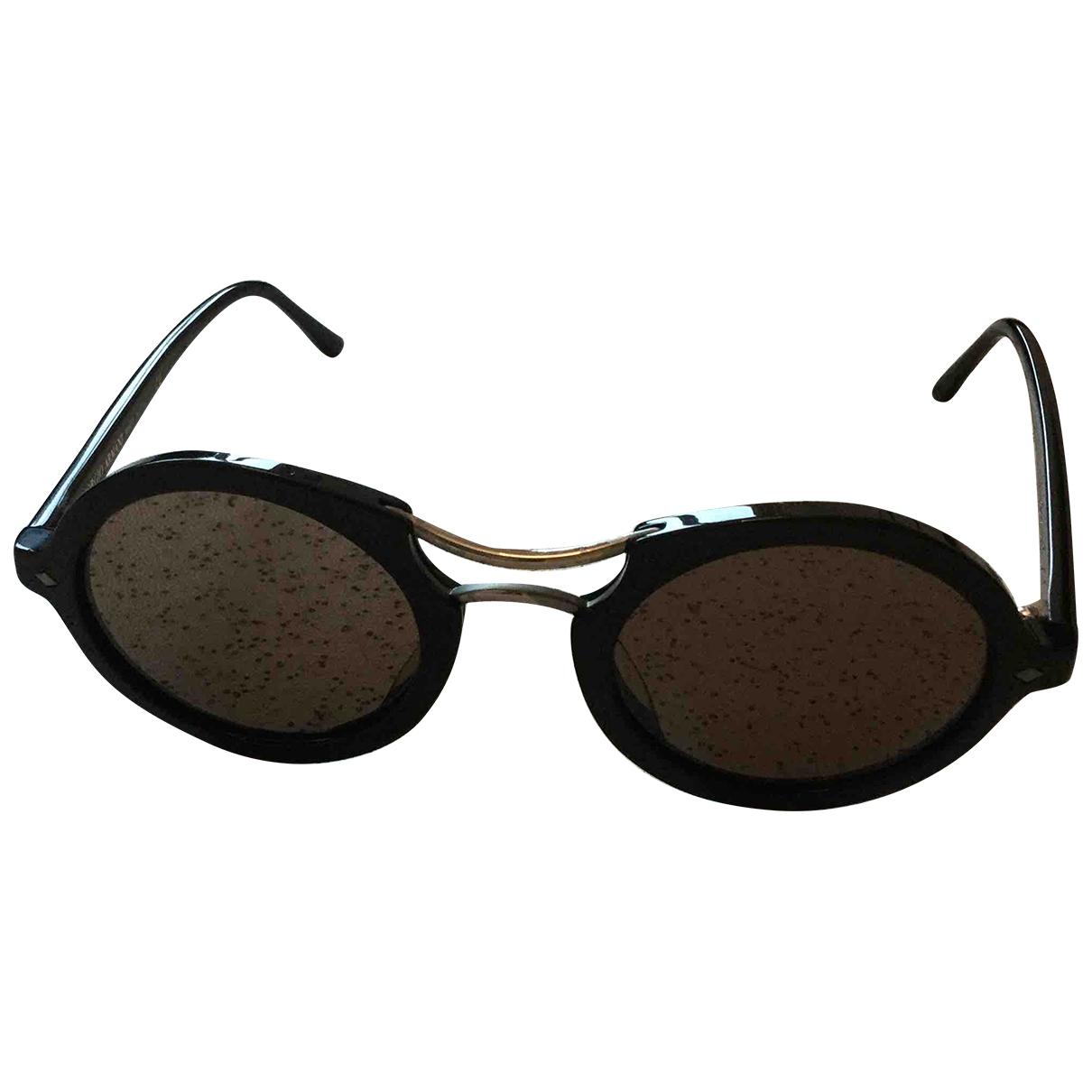 Giorgio Armani \N Sonnenbrillen in  Schwarz Kunststoff