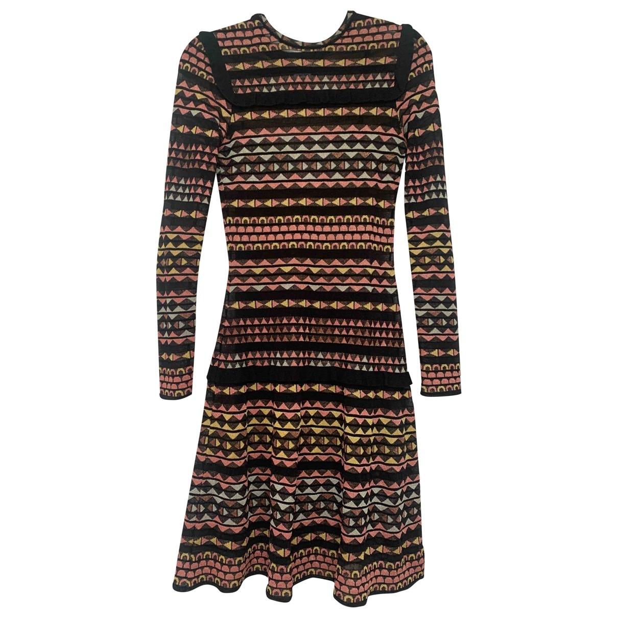 M Missoni - Robe   pour femme en a paillettes - multicolore