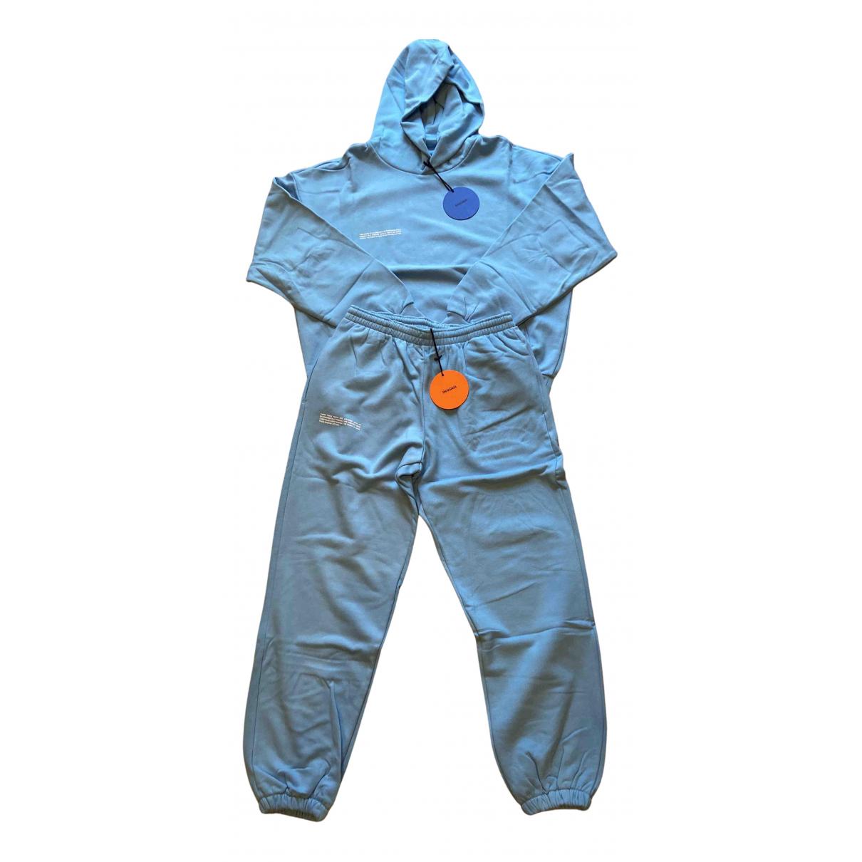 The Pangaia N Blue Cotton jumpsuit for Women S International