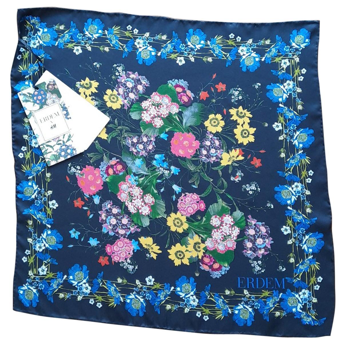 Erdem X H&m N Multicolour Silk scarf for Women N