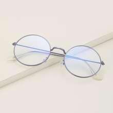 Brille mit runden Linsen