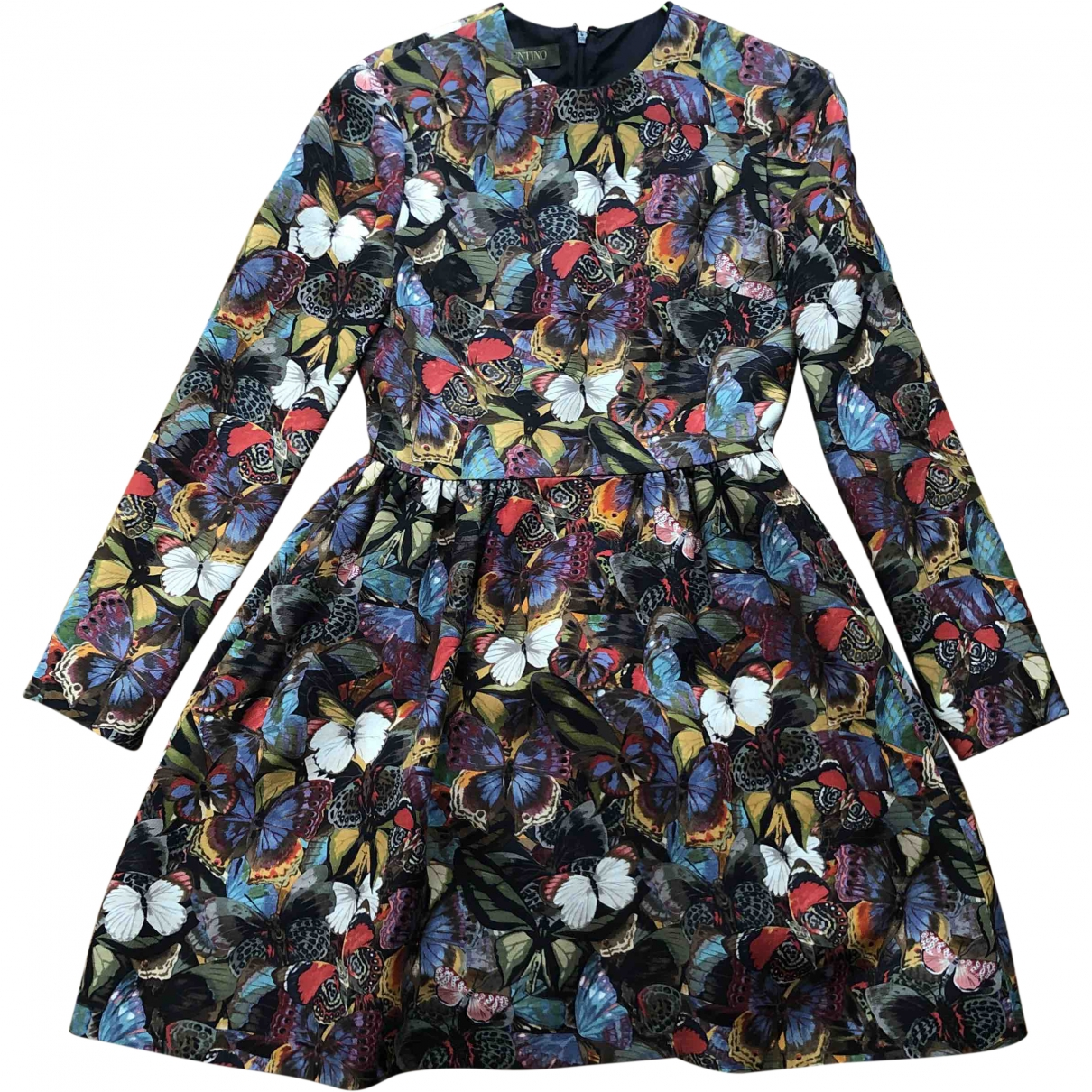 Valentino Garavani \N Multicolour Wool dress for Women 38 IT