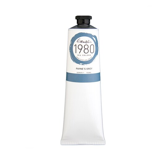Gamblin 1980 Oil Color, 150 ml Paint in Payne's Grey   Michaels®