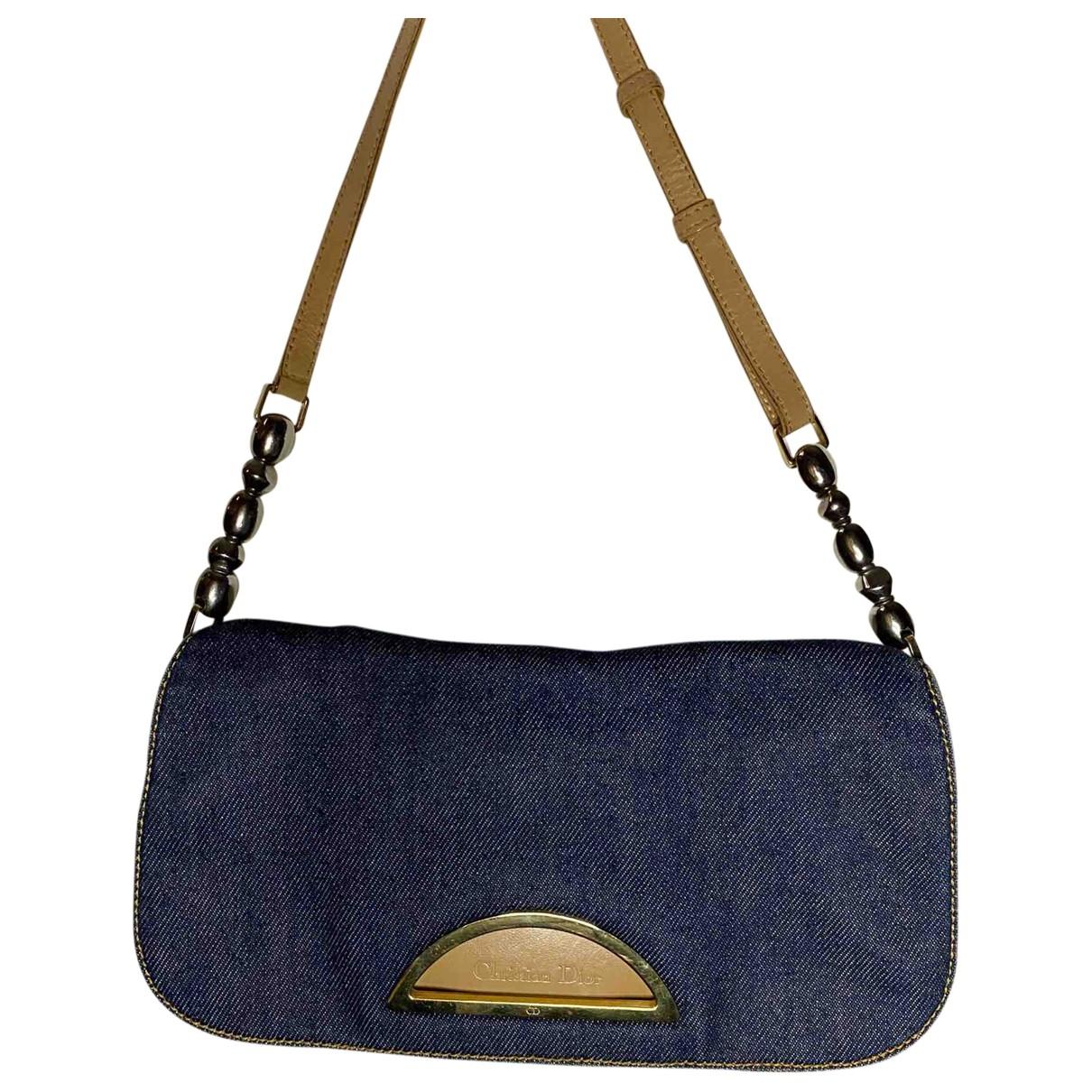 Dior Malice Handtasche in  Marine Denim - Jeans