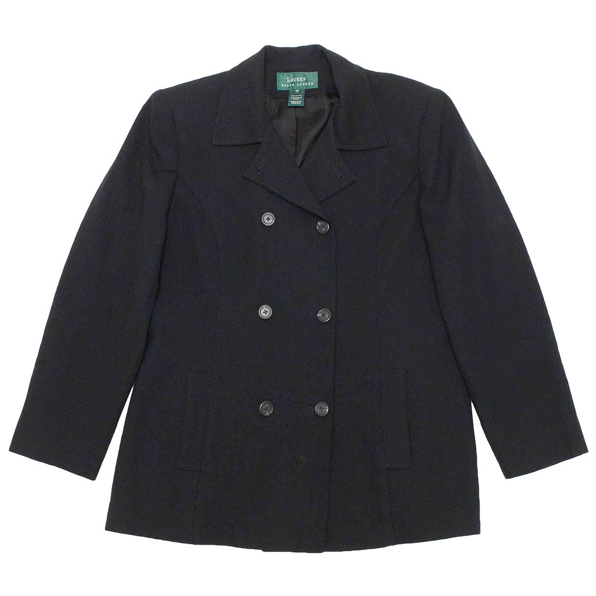 Ralph Lauren \N Black Wool jacket for Women 12 US