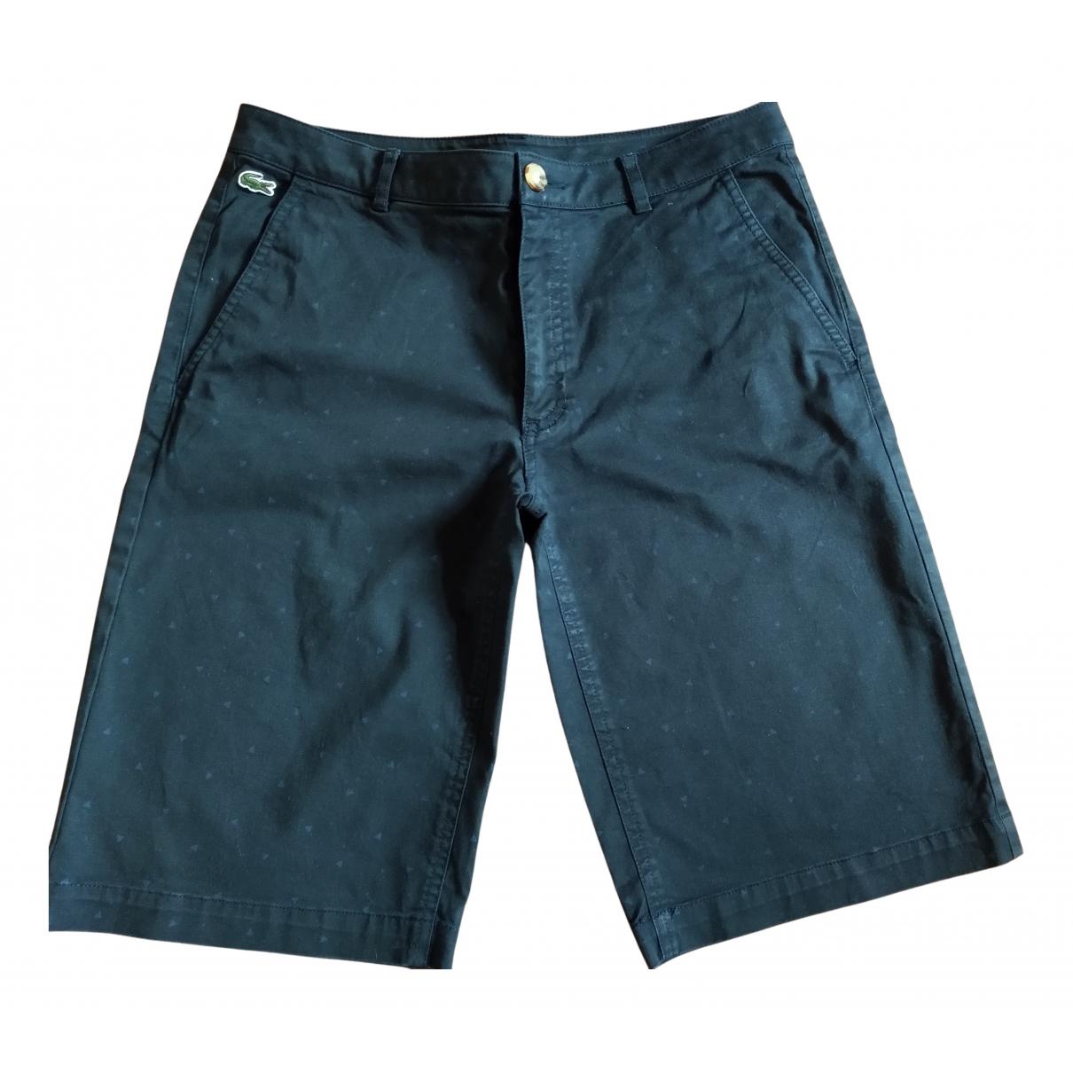 Lacoste - Short   pour enfant en coton - bleu
