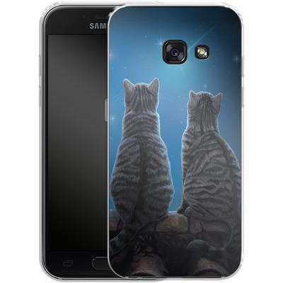 Samsung Galaxy A3 (2017) Silikon Handyhuelle - Wish Upon a Star von Lisa Parker