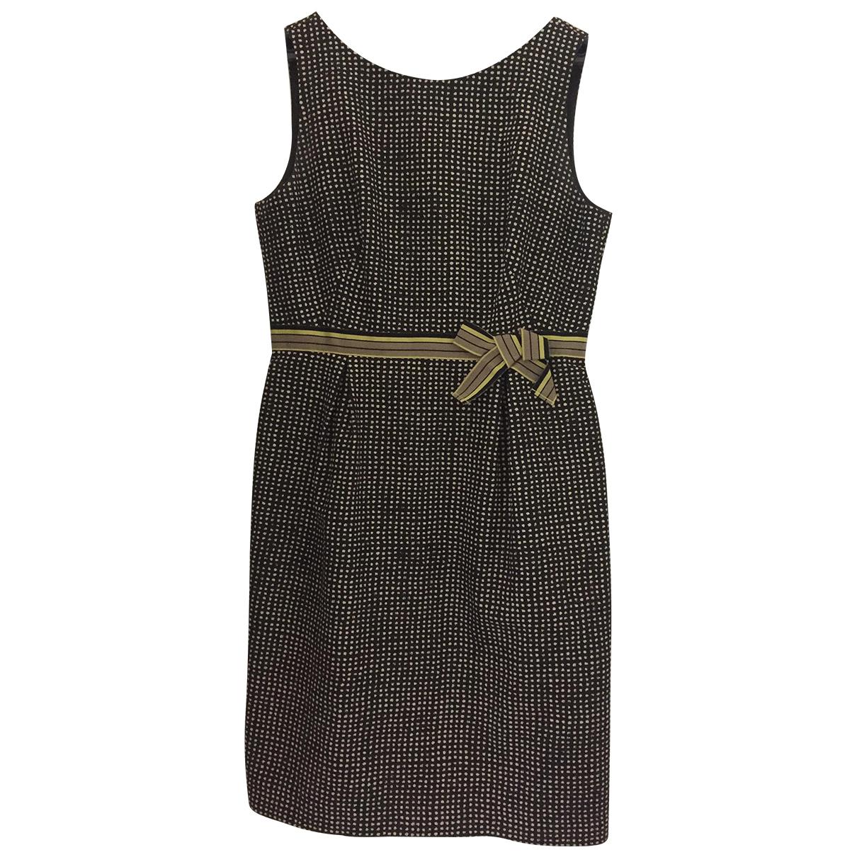 Paule Ka \N Kleid in  Schwarz Baumwolle