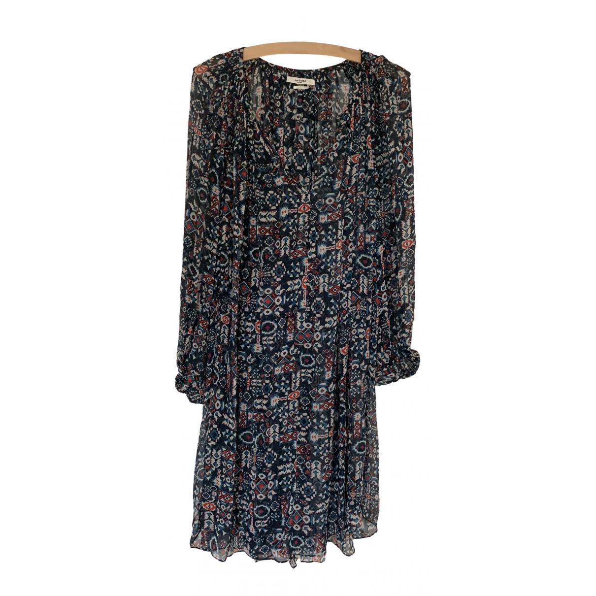 Isabel Marant Etoile - Robe   pour femme en soie - bleu