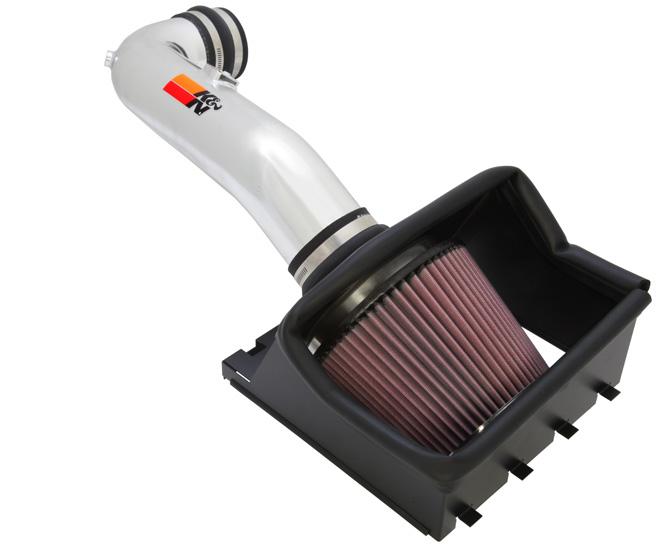 K&N 77-2580KP Performance Air Intake System Ford F-150 2009-2010 4.6L V8
