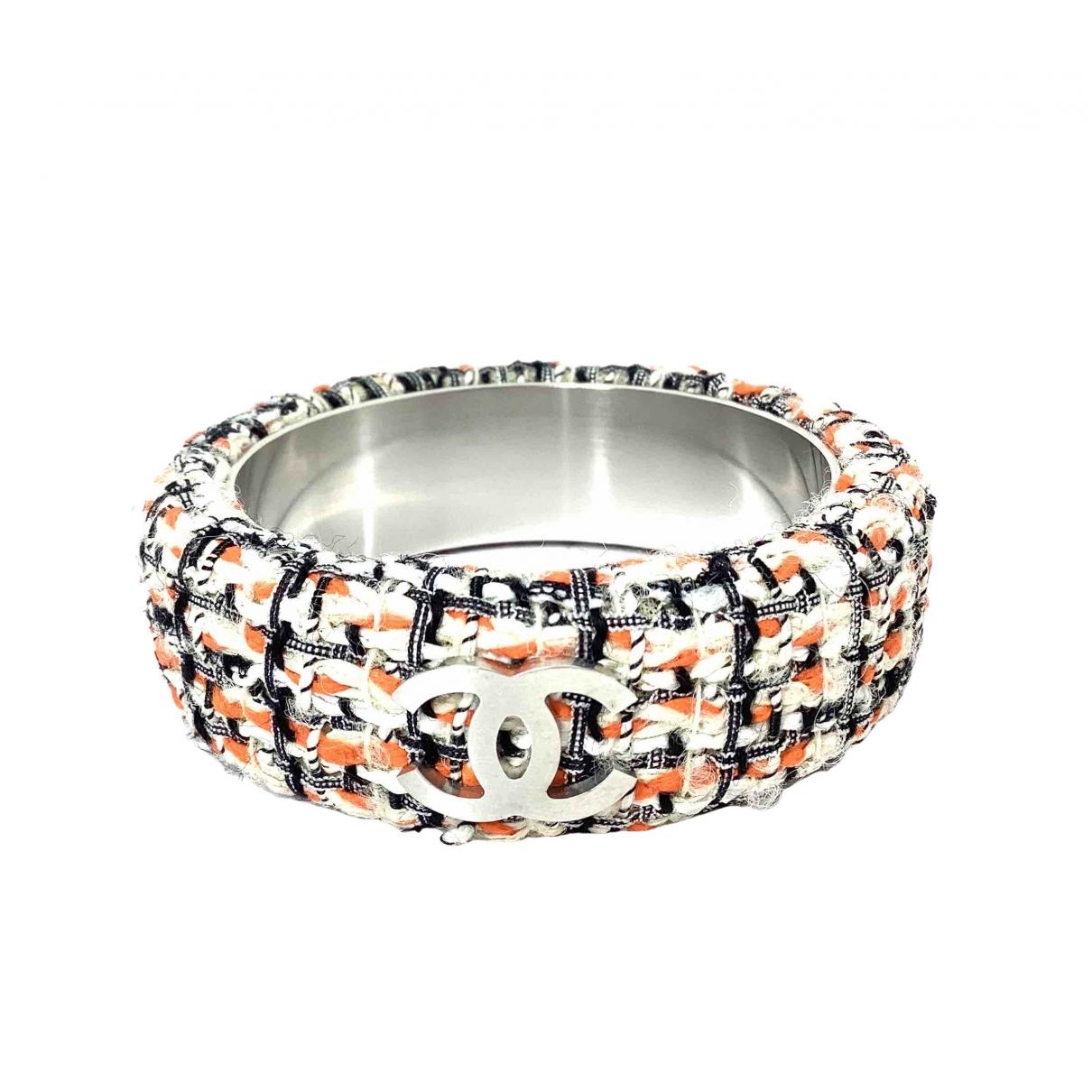 Chanel - Bracelet CC pour femme en metal - multicolore