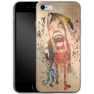Apple iPhone 6 Silikon Handyhuelle - Scream von Mark Ashkenazi