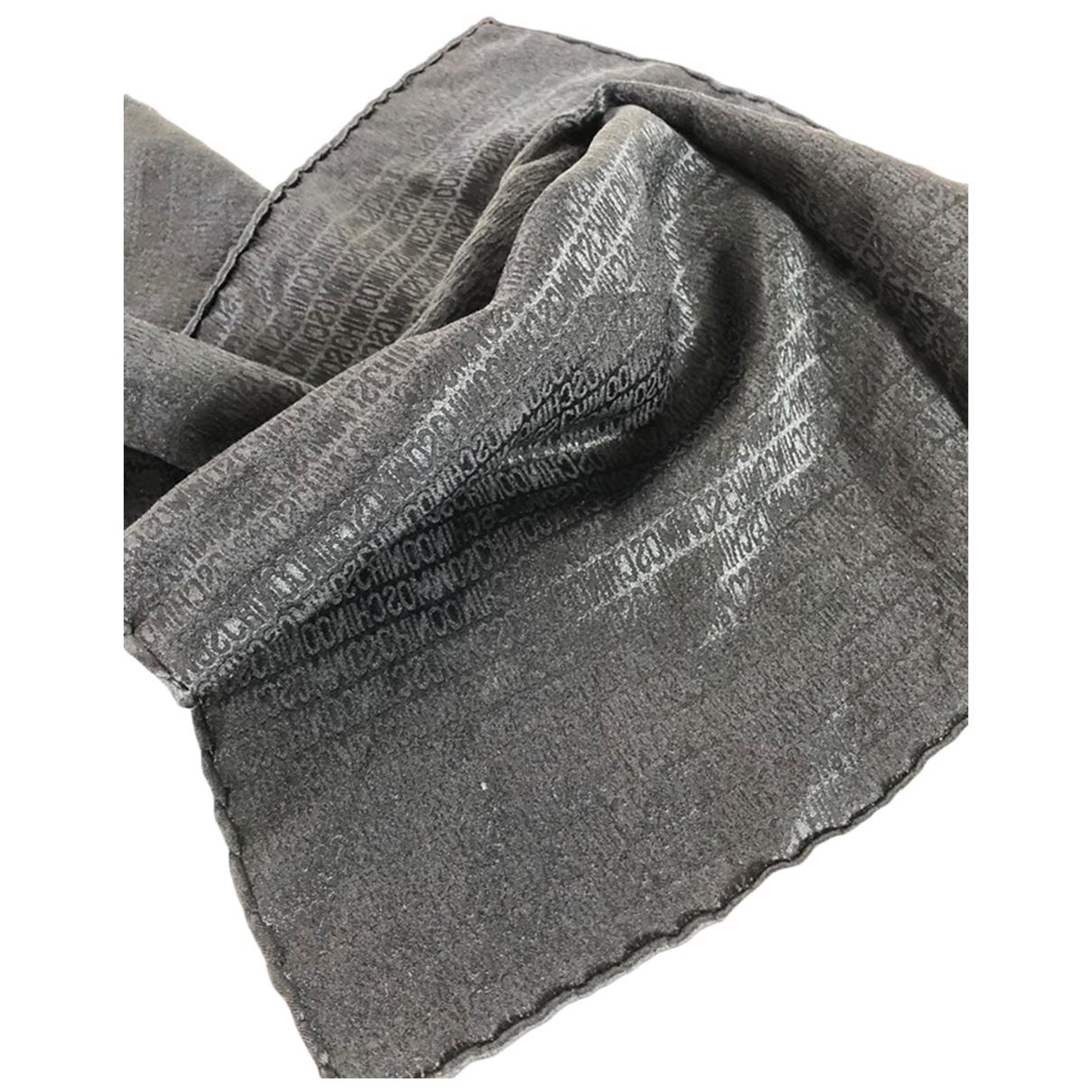 Moschino \N Schal in  Schwarz Seide
