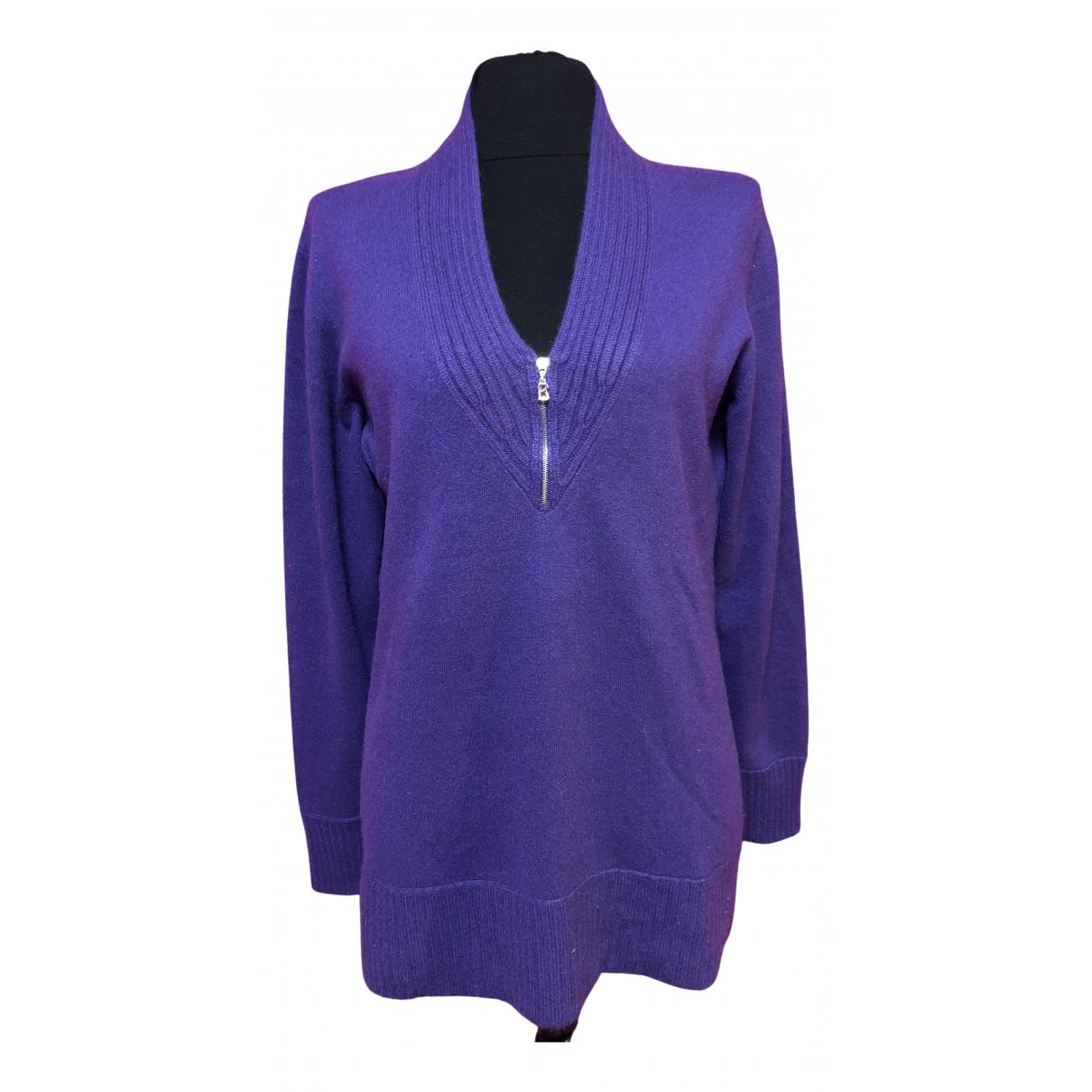 Bogner - Pull   pour femme en cachemire - violet