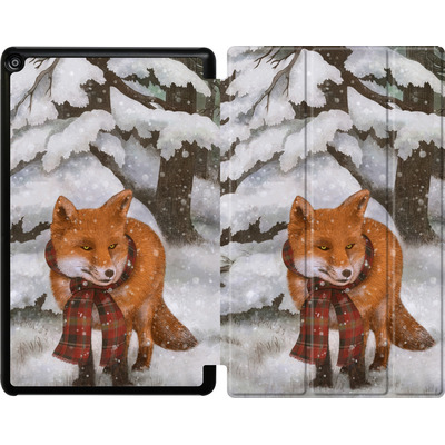Amazon Fire HD 10 (2017) Tablet Smart Case - Winter Fox von Terry Fan
