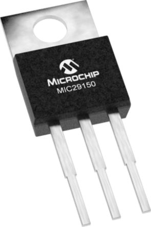 Microchip MIC29150-3.3WU, LDO Regulator, 1.5A, 3.3 V, ±2% 3-Pin, D2PAK (50)