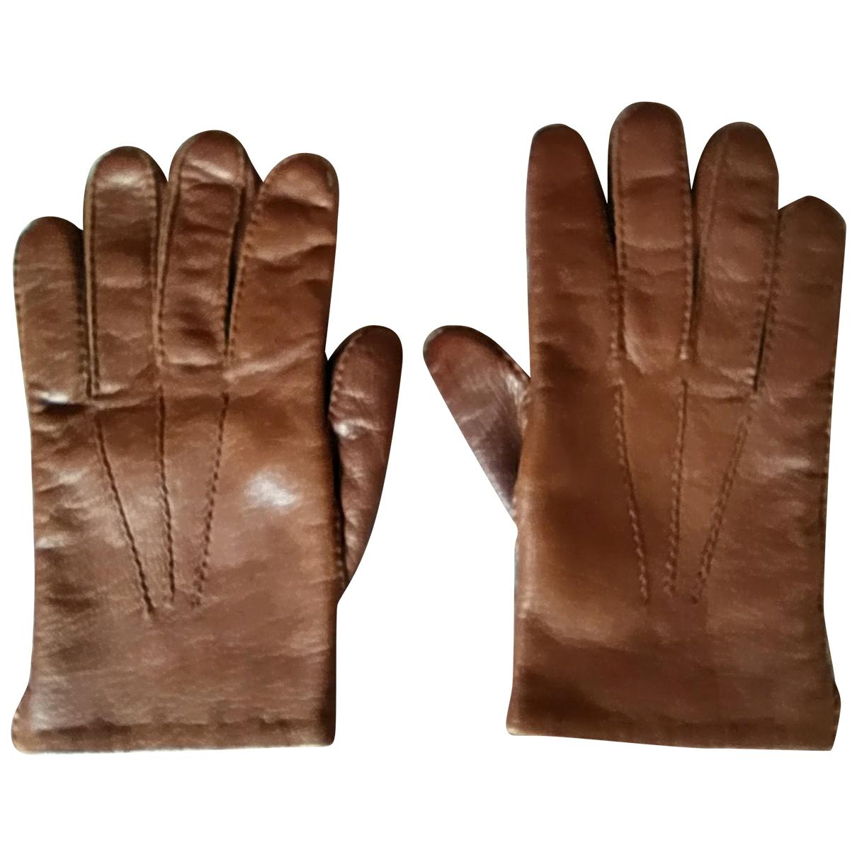 Golden Goose \N Handschuhe in  Braun Leder