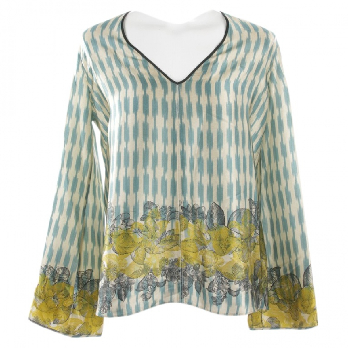 Forte_forte \N Multicolour Leather  top for Women 34 FR