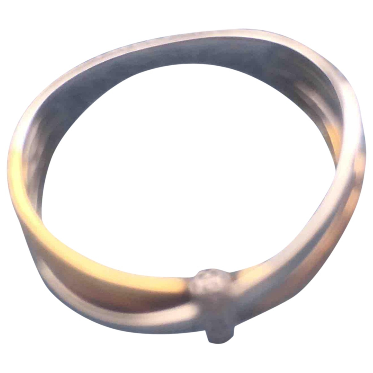 Non Signé / Unsigned \N Yellow gold ring for Women 54 MM