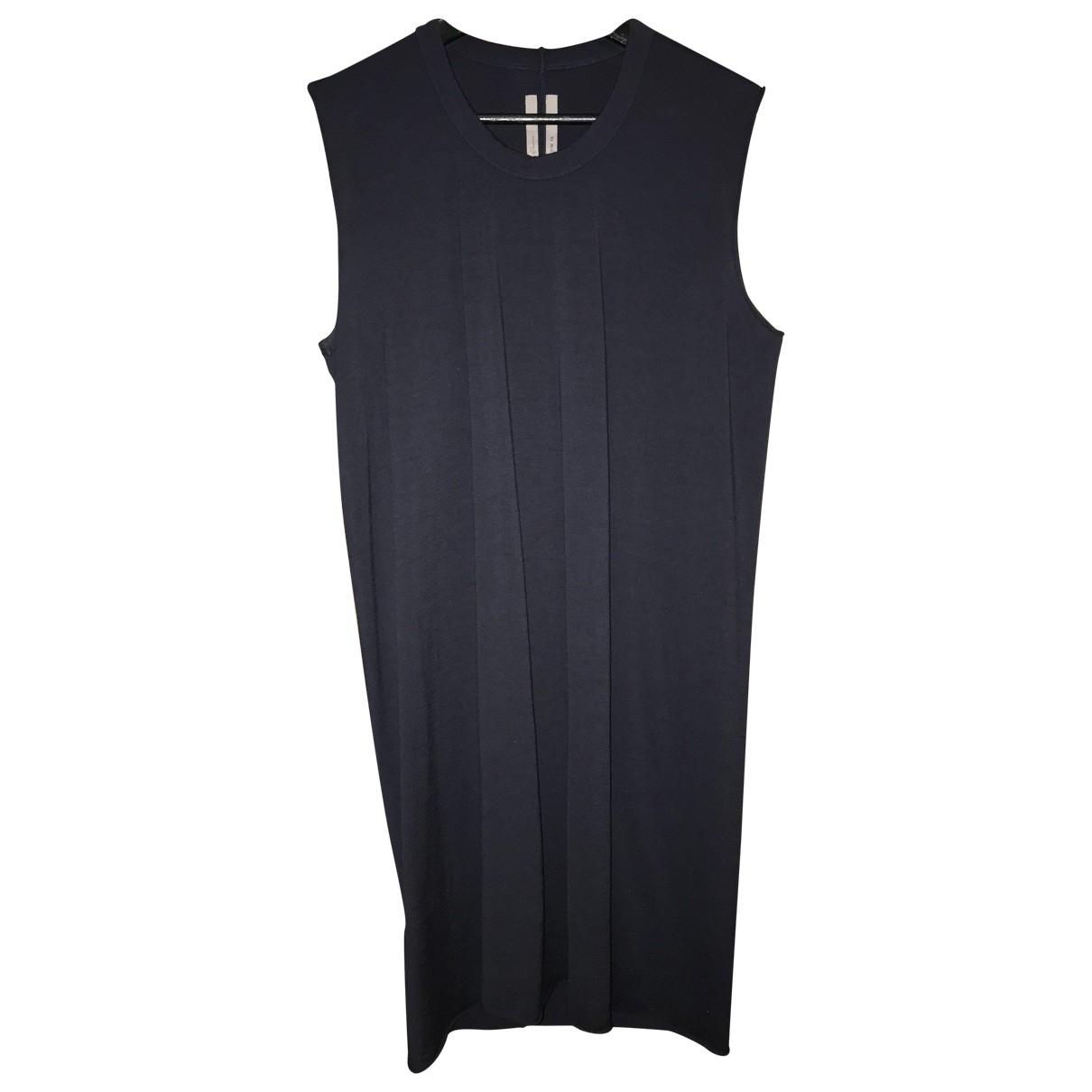 Rick Owens \N Kleid in  Marine Wolle