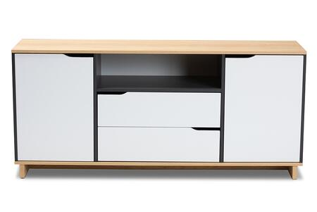 Reed Collection MPC8005-OAK/GREY/WHITE-SIDEBOARD 59