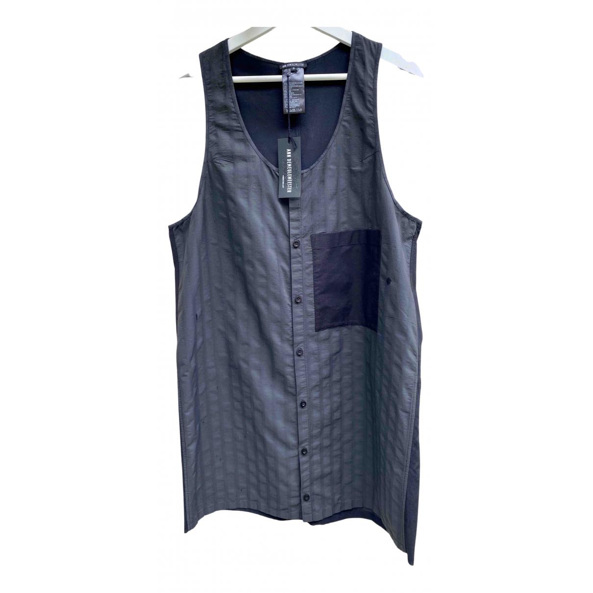 Ann Demeulemeester \N Hemden in  Schwarz Baumwolle