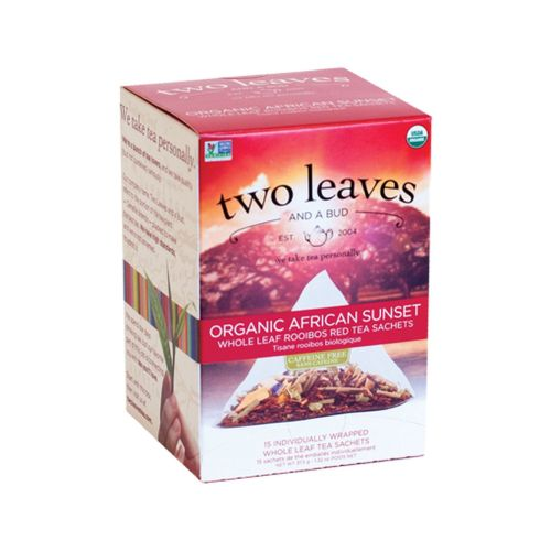 Organic African Sunset Tea 15 Bags by Two Leaves And A Bud