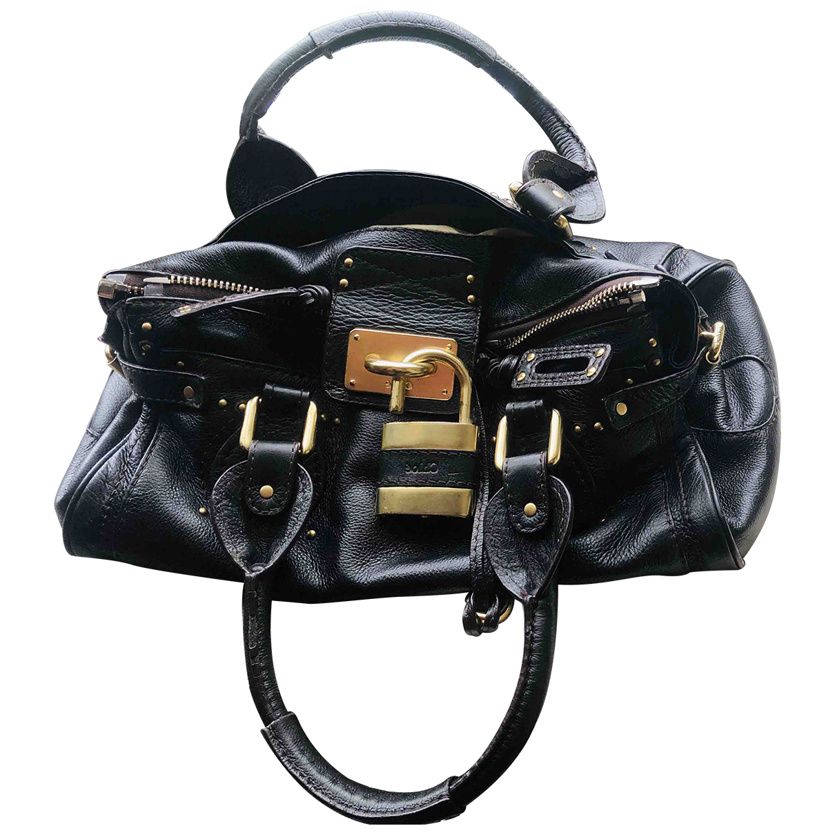 Chloé Paddington Brown Leather handbag for Women \N