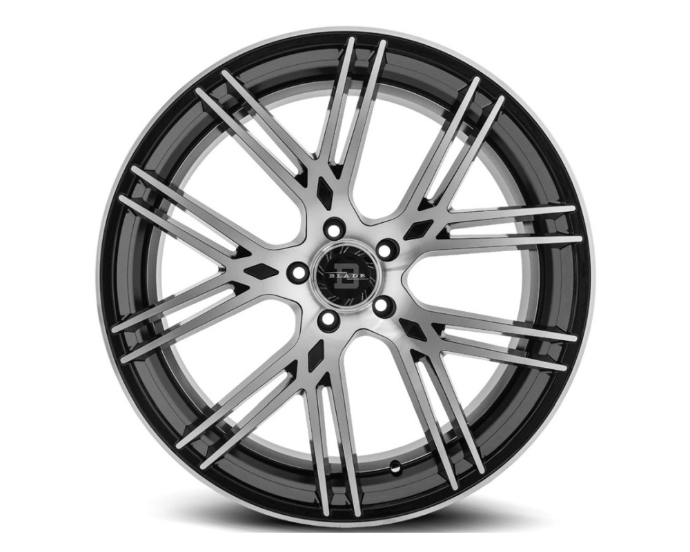 Blade BL-405 Vittoro Wheel 22x9.5 5x120 15mm Black Machined