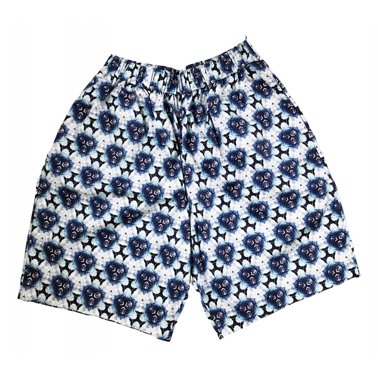 Acne Studios \N Shorts in  Blau Baumwolle